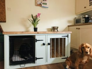 Wooden dog kennels made to order