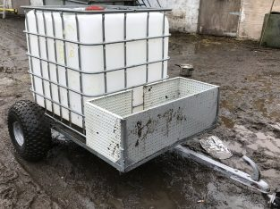Expired: ATV Bowser Trailer Water Ibc 1000 Litre Liquid Transport