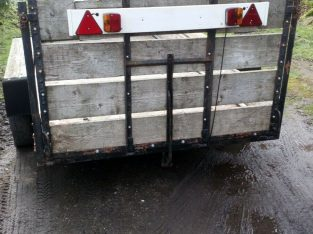Used twin axle trailer spares or repair