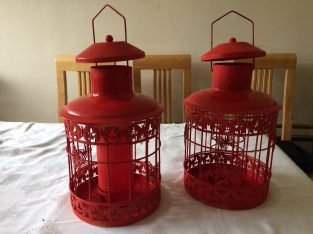 Pair of decorative lanterns