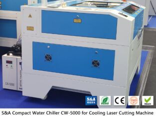 Small water chiller CW5000 for CO2 laser engraver